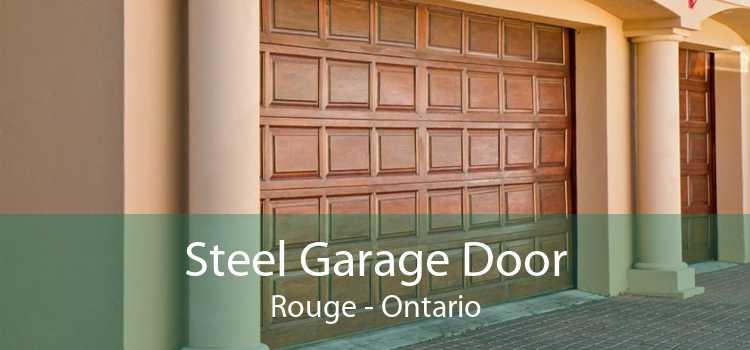 Steel Garage Door Rouge - Ontario