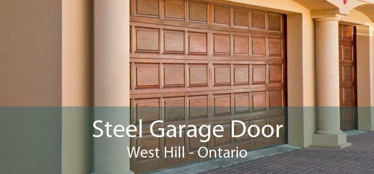 Steel Garage Door West Hill - Ontario