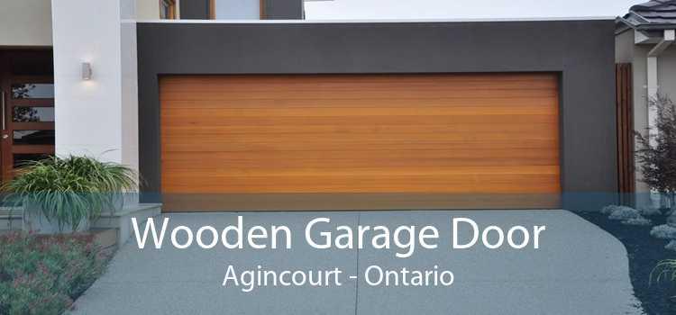 Wooden Garage Door Agincourt - Ontario