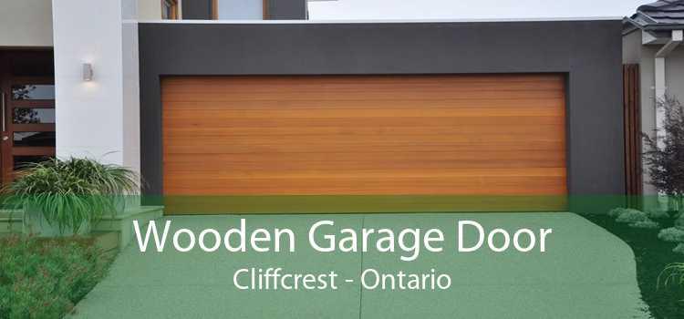 Wooden Garage Door Cliffcrest - Ontario