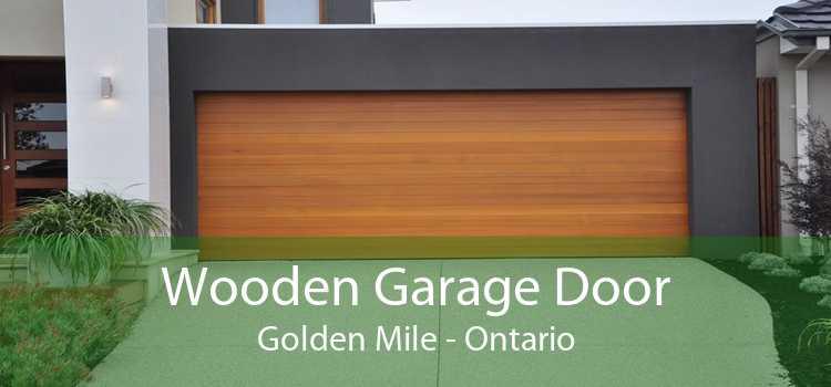 Wooden Garage Door Golden Mile - Ontario