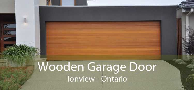 Wooden Garage Door Ionview - Ontario