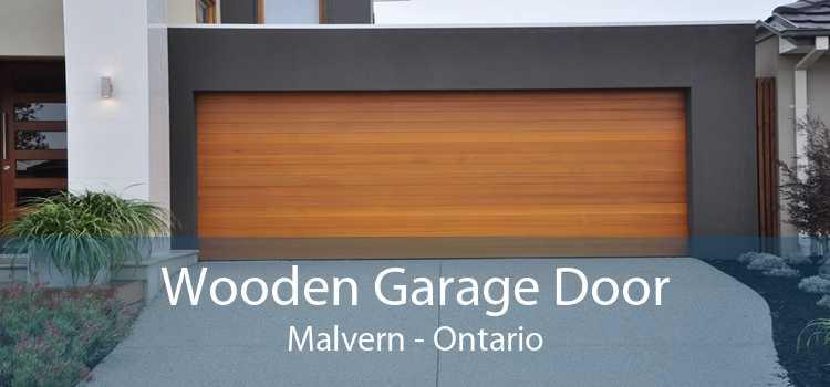 Wooden Garage Door Malvern - Ontario