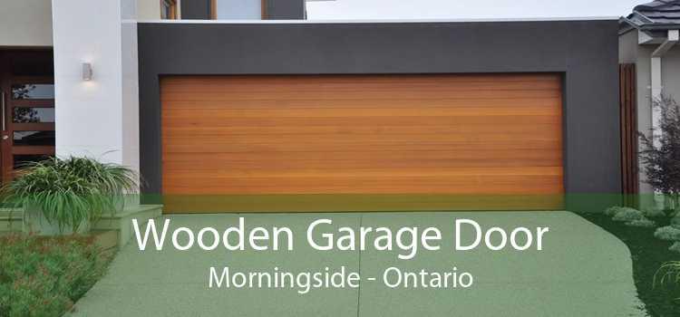 Wooden Garage Door Morningside - Ontario