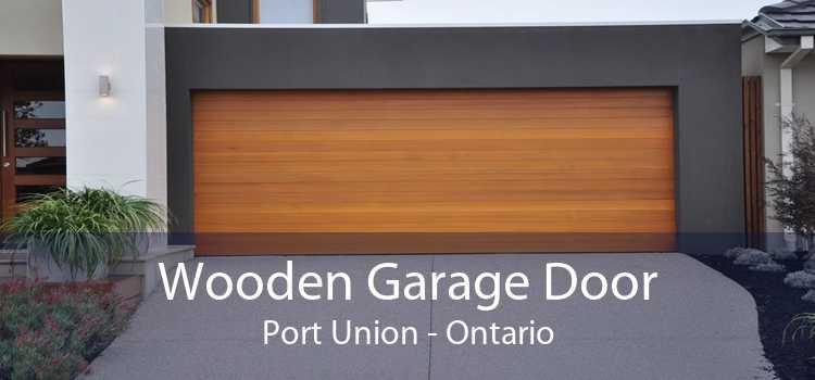 Wooden Garage Door Port Union - Ontario