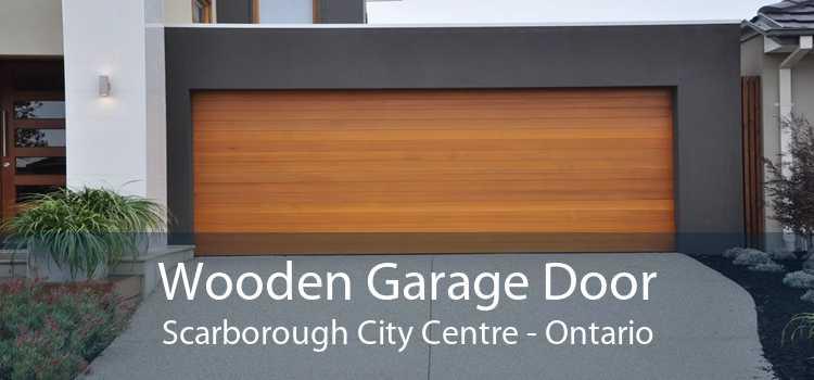 Wooden Garage Door Scarborough City Centre - Ontario