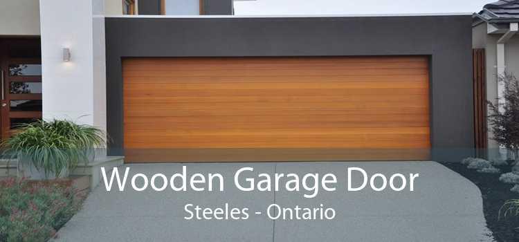 Wooden Garage Door Steeles - Ontario