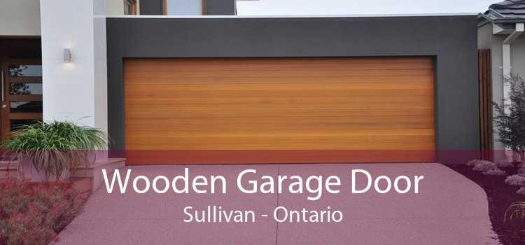 Wooden Garage Door Sullivan - Ontario