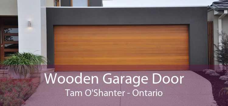Wooden Garage Door Tam O'Shanter - Ontario
