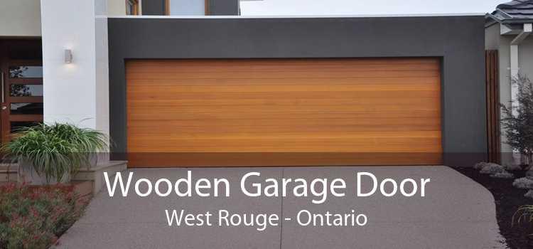 Wooden Garage Door West Rouge - Ontario